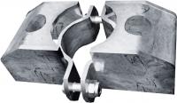 Schelle 76, 2 Riegelhalter TS parallel