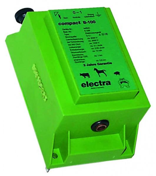 compact B100, Mini-Weidezaungerät für 4 Monozellen 1,5 V