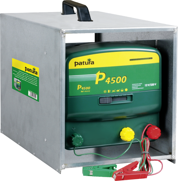 Patura P4500 mit Tragebox, Kombi-Weidezaungerät 230V/12V
