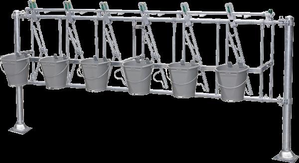 Nuckeleimer-Montagesatz 5/2,5 , Länge 2,5 m
