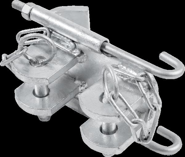 Halter für Doppel-T-Träger 10 - 16 cm