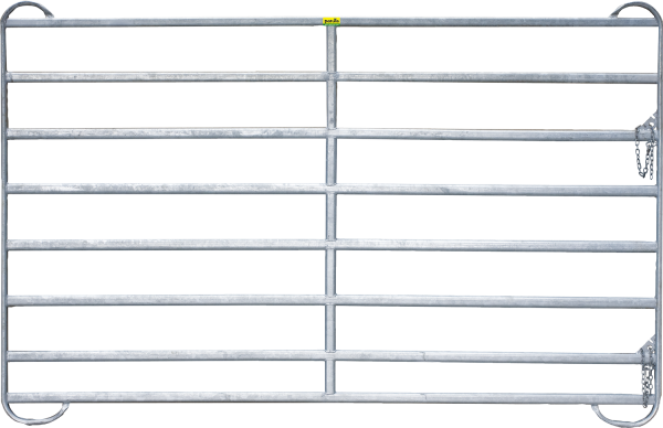 Panel-8, Länge 2,40 m, Höhe 1,94 m