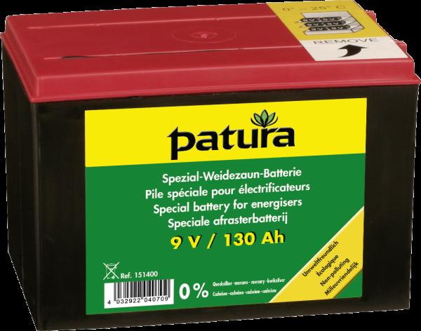 9 V / 130 Ah Spezial Weidezaun-Batterie