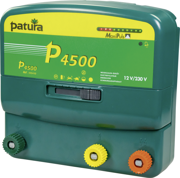 Patura P4500, Kombi-Weidezaungerät 230V/12V, mit Maxi-Puls-Technologie
