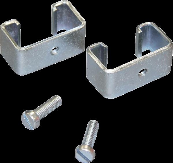 Montageset für T-Pfosten, für Isolatoren mit Gewinde M6