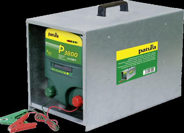 Patura P3800 mit offener Tragebox, Kombi-Weidezaungerät 230V/12V