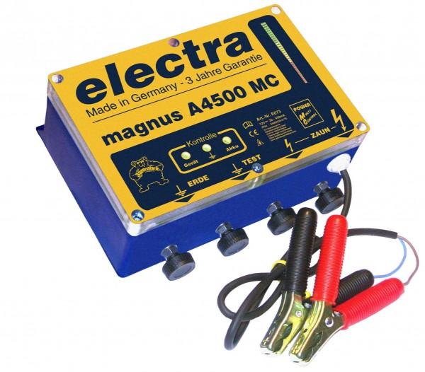 magnus A 4500 MC, Weidezaungerät 12 V