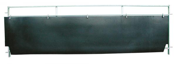 1 Satz (=2 Stück) Gummi-Wandverkleidung, Länge 3,00 m, Höhe 0,60 m