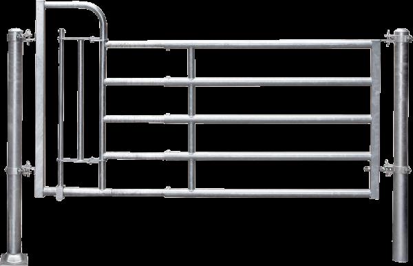 Abtrennung R5 (3/4) Personenschlupf, Montagelänge 325 - 425 cm