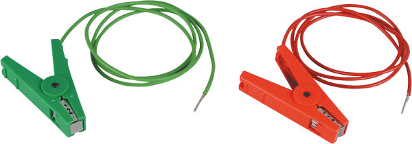 Zaun- u. Erdkabelset, 3 mm Stift, isolierte Edelstahlklemmen