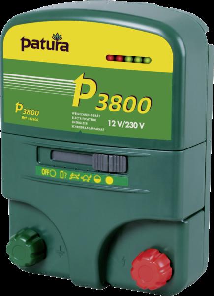 Patura P3800, Kombi-Weidezaungerät 230V/12V
