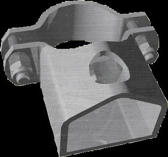 Schelle 76, 1 Riegelhalter TS