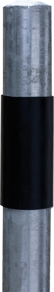 PVC-Schutzhülse für Pfosten 76 mm