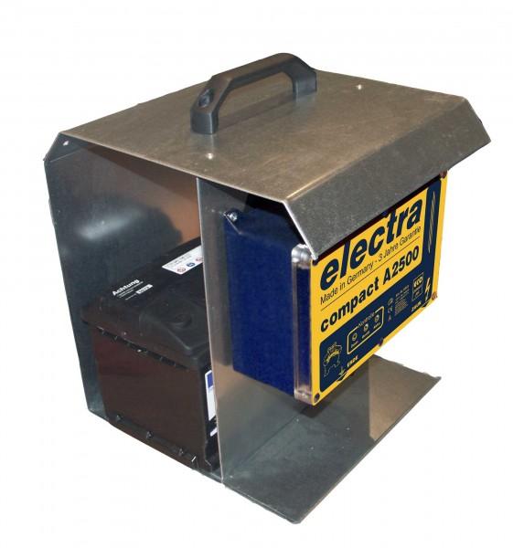 compact A2500 und Tragebox und Solarmodul 12 V, 10 W