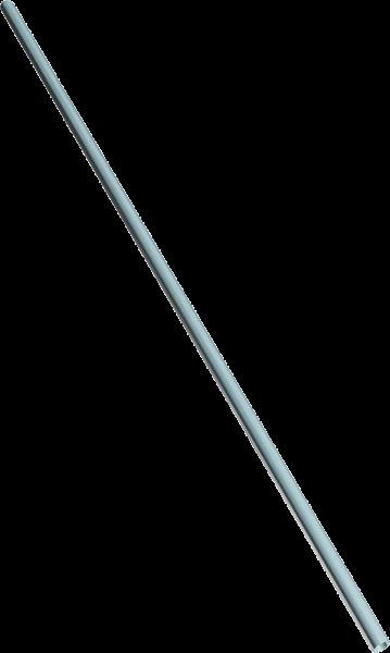 """Rohr 48,3 (1 1/2"""") x 3,2 mm, 6 m Stange"""