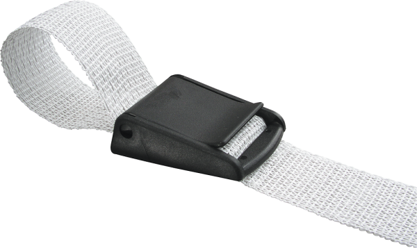 3 Stk. Breitbandklemme 40 mm, Kunststoff, für Breitband 30 - 40 mm Band
