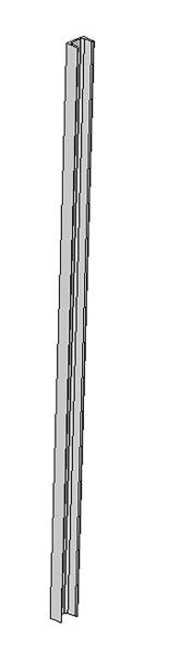 U-Profil 65x42x5,5mm, L=1,75m
