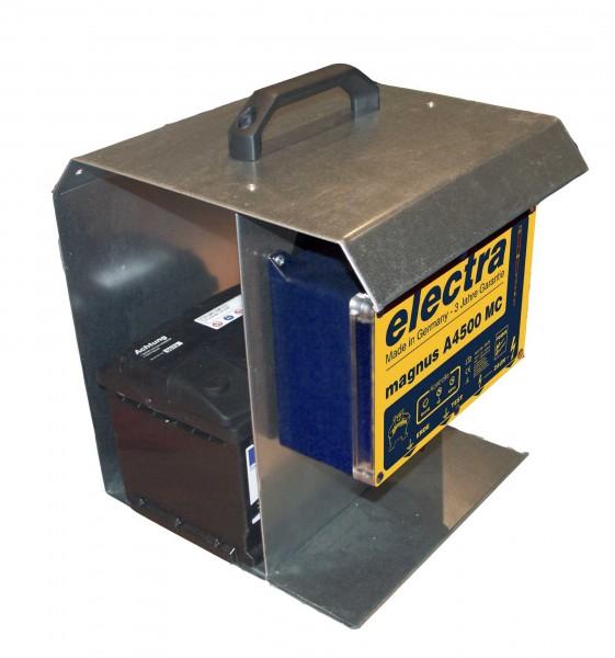 magnus A4500 MC mit Tragebox und Solarmodul 12 V, 20 W