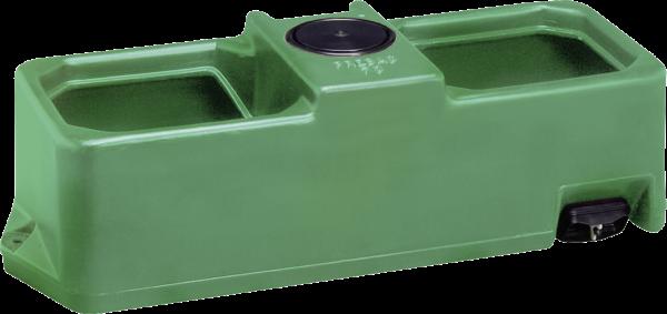 Weidetränke, eckig, 70 Liter Niederdruckventil, 960x390x350 mm