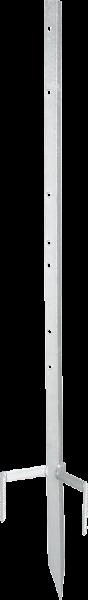 bis 85 cm Zaunhöhe, Metalleckpfahl Super, stabiler Eckpfahl, für mobile Zäune