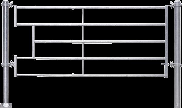 Abtrennung leicht (3/4), Becken, Montagelänge 300 - 380 cm