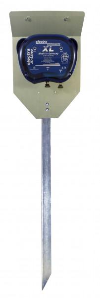 X-Line XL mit Erd- und Aufstellpfahl
