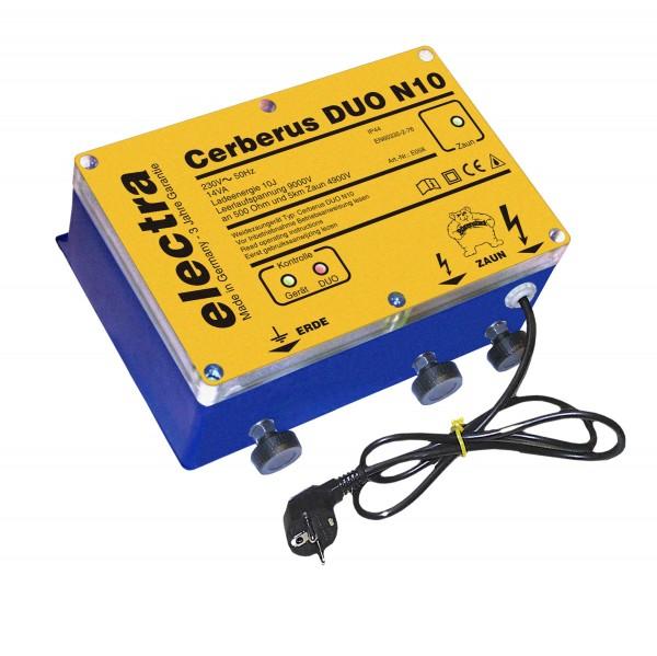 Cerberus DUO N10, Doppelimpuls-Weidezaungerät 230 V