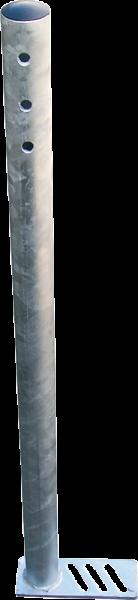 Füße für Schnellablauftrog, verzinkt ( 1 Satz = 4 Stück )