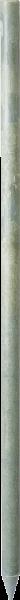 Recycling-Kunststoffpfahl rund, Länge 1,5 m, D = 4,5 cm