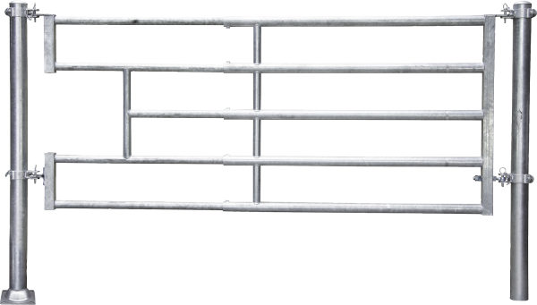 Abtrennung R5 (3/4) Becken, Montagelänge 320 - 425 cm