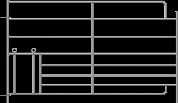 Steckfix-Horde XL mit Lämmerschlupf, Länge 1,83 m, Höhe 1,10 m