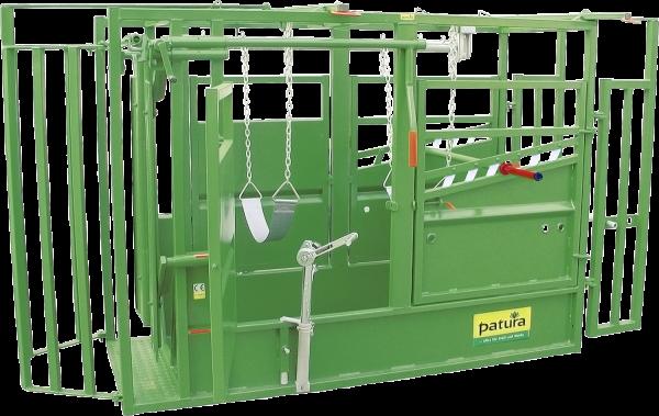 Behandlungsstand A5000 KVW, Klauenpflege, inkl. Vorderfußwinde, feuerverzinkt