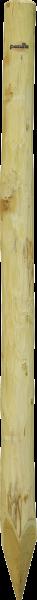 Robinienpfahl rund, Länge 2,0 m, D = 10-12 cm gefast