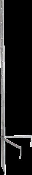 Standard-Montagepfahl, für bis zu 4 Haspeln , Zaunhöhe bis 1,35 m