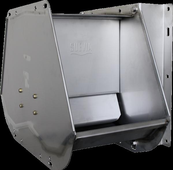 Doppel-Ventil-Trogtränke Mod. 520 Edelstahl