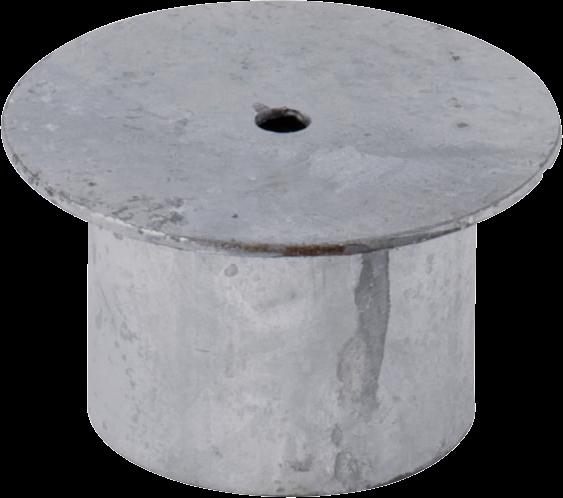 Abdeckung für Einbauhülse 76 mm
