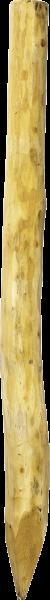 Robinienpfahl rund, Länge 2,25 m, D = 16-18 cm
