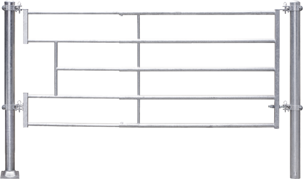 Abtrennung leicht (4/5), Becken, Montagelänge 400 - 480 cm