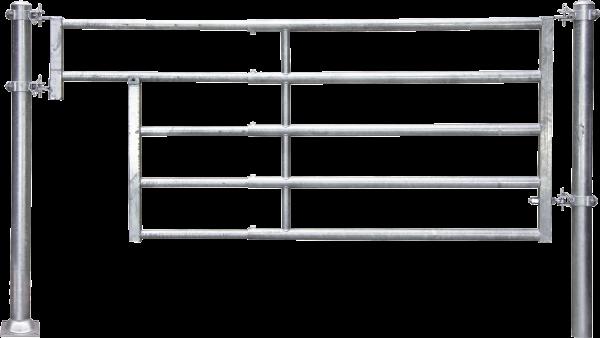 Abtrennung R5 (1/2) Tränke, Montagelänge 185 - 275 cm
