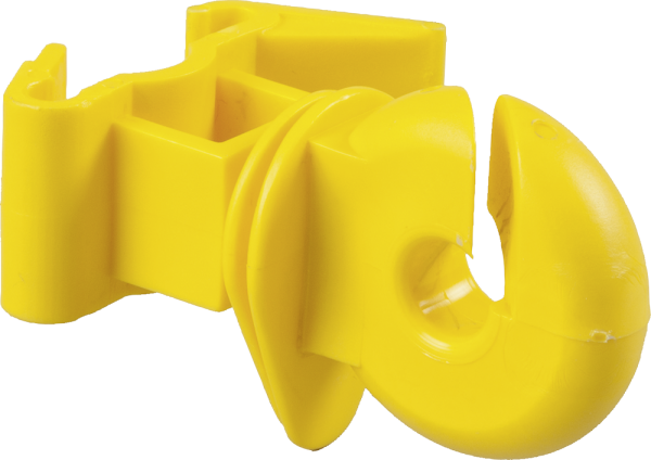 25 Stk. Ringisolator für T-Pfosten, gelb
