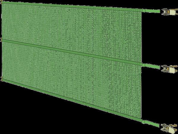 Windschutz-Spannpanel, Breite 7,60 m, Höhe 1,0 m