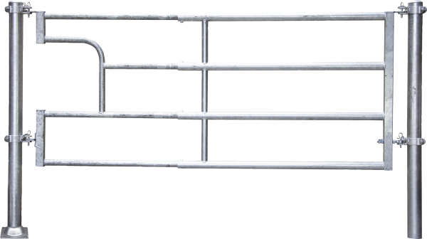 Abtrennung R4 (4/5) Becken, Montagelänge 420 - 525 cm